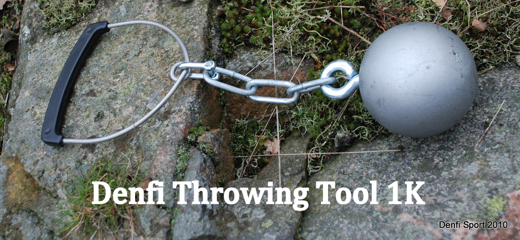 Denfi Throwing Tool 1k with Steel ball
